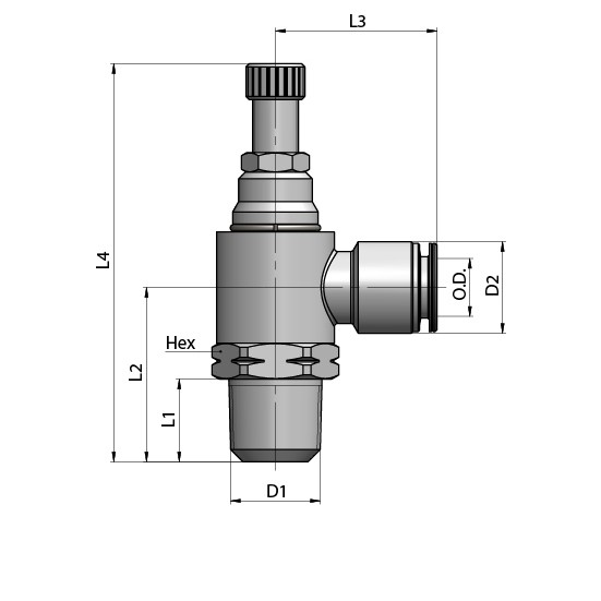 PV41 5/32 10-32 /V