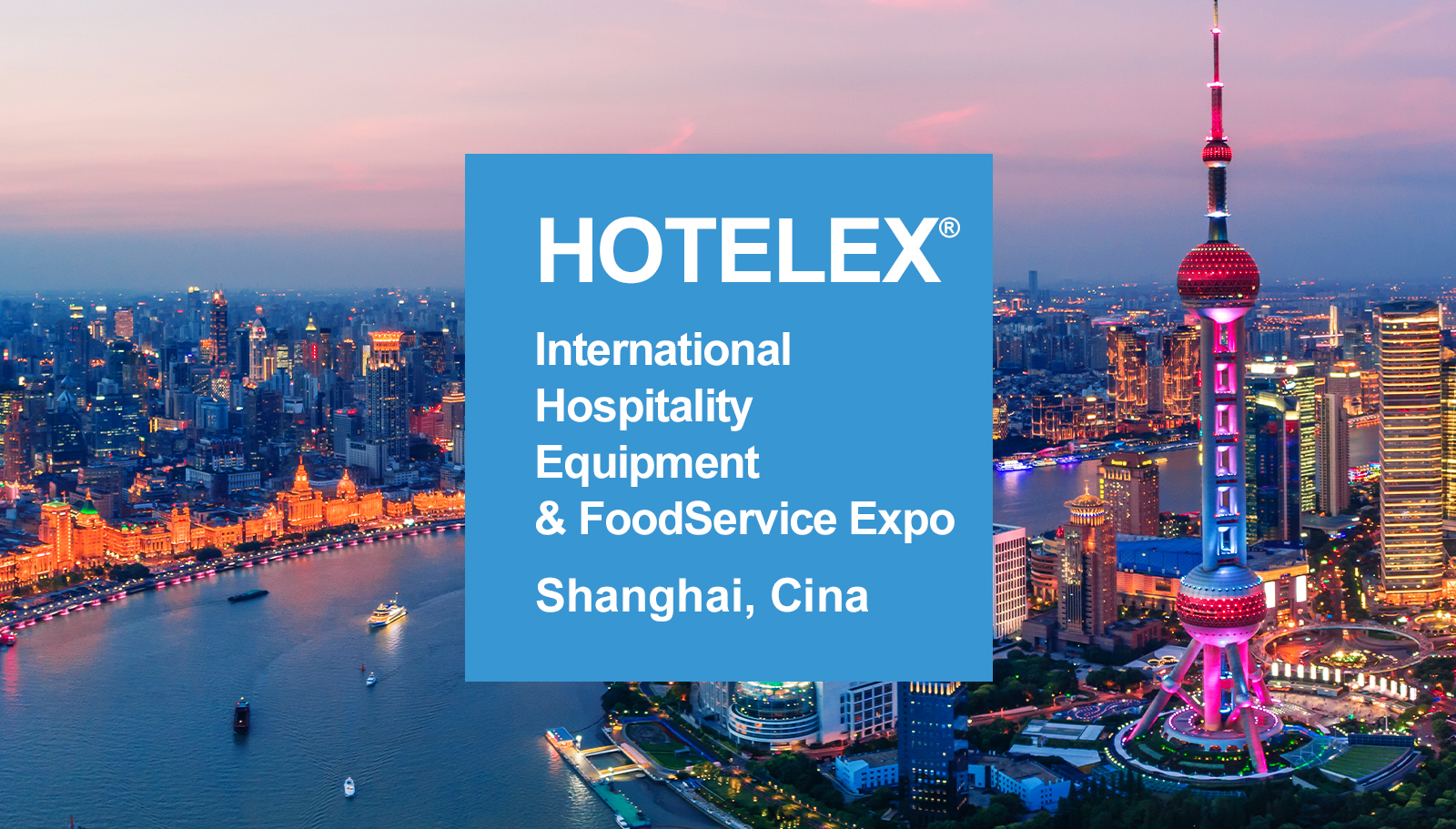 Cmatic fittings for Food & Beverage showcased at HOTELEX® Shanghai International 2021