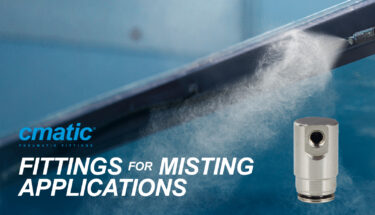 Misting applications, never this easy:<br>discover Cmatic MM line
